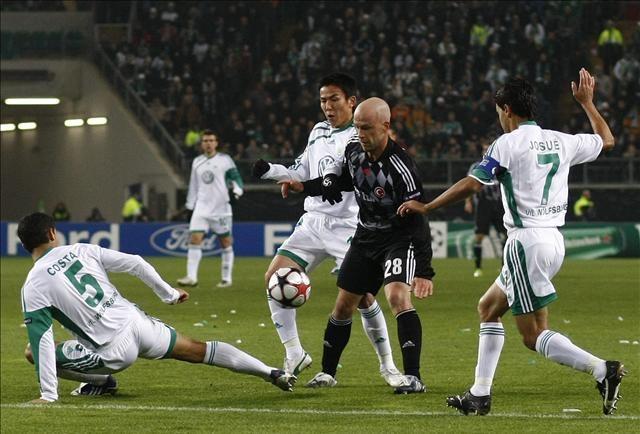 Wolfsburg: 0 - Beşiktaş: 0