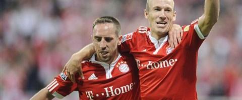 Wolfsburg Bayern'e çarpıldı