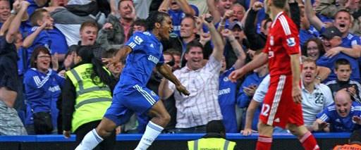 Yeni lider Chelsea: 2-0