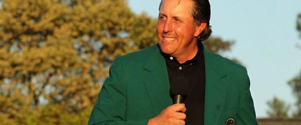 """""""Yeşil Ceket"""" Mickelson'ın"""