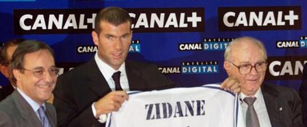 Zidane'dan Perez'e destek