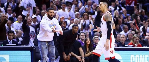 NBA'in yaramaz taraftarı Drake'e boykot