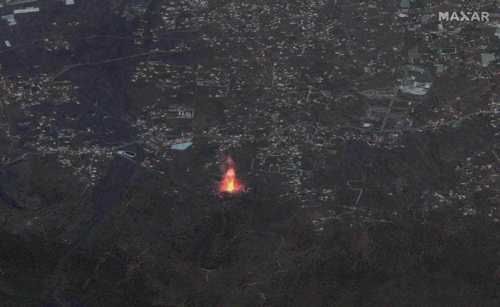 Kanarya Adaları'nda aktif hale gelen yanardağda patlamaların şiddeti arttı - 12