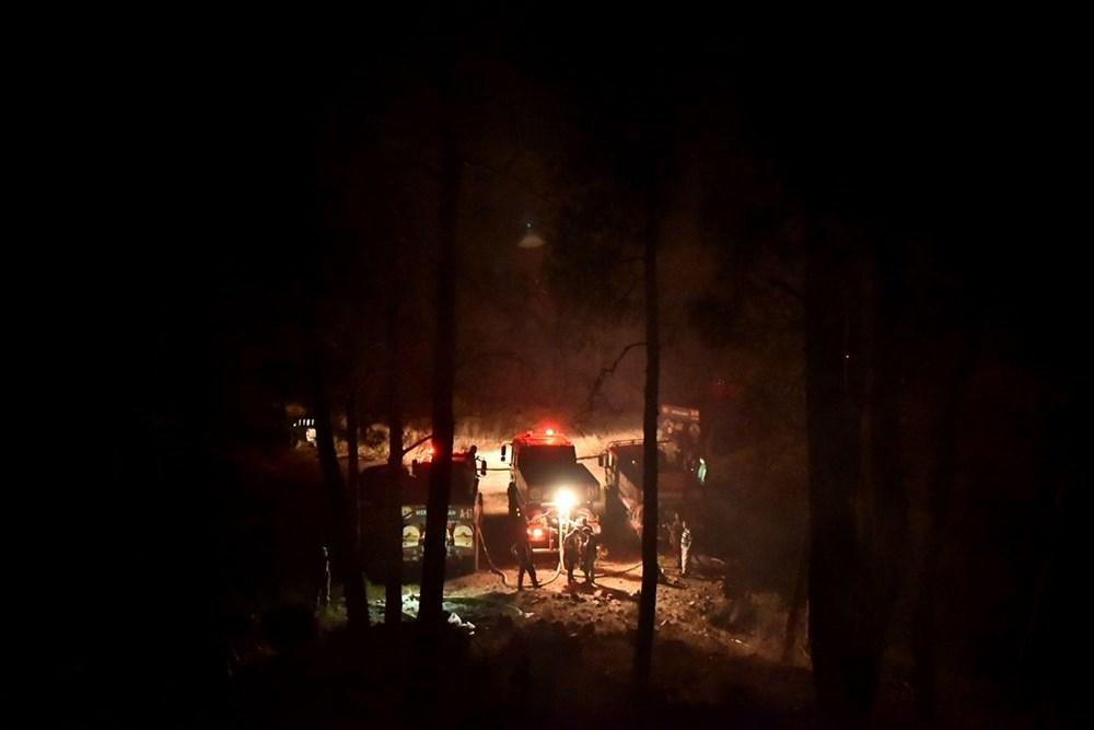 Hatay ve Mersin'de orman yangını - 10