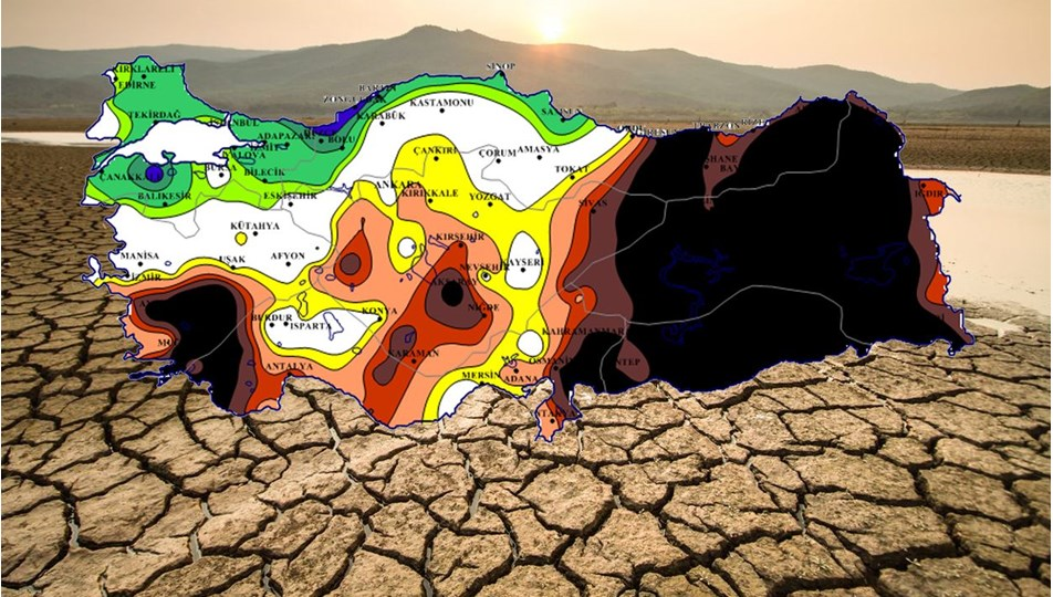 Meteorolojinin haritasında 'olağanüstü kuraklık' tehlikesi