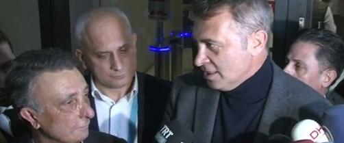 Beşiktaş Başkanı Fikret Orman ve Ahmet Nur Çebi'den derbi yorumu