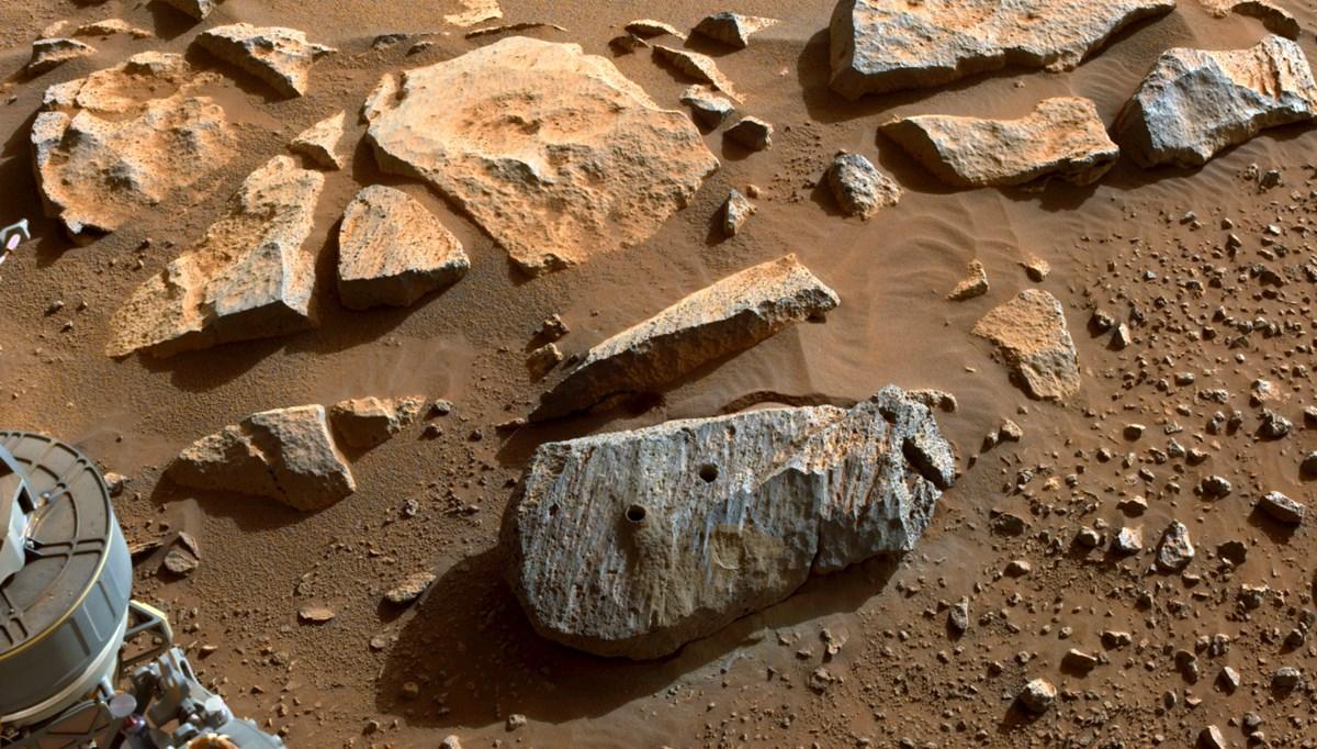 NASA: Mars'tan alınan iki örnek, Kızıl Gezegen'in yaşanabilir olduğunu gösteriyor