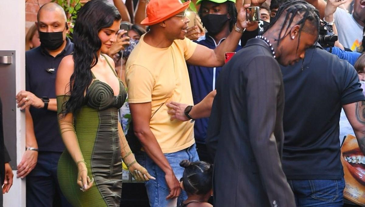 Kylie Jenner ve Travis Scott yeniden birlikte