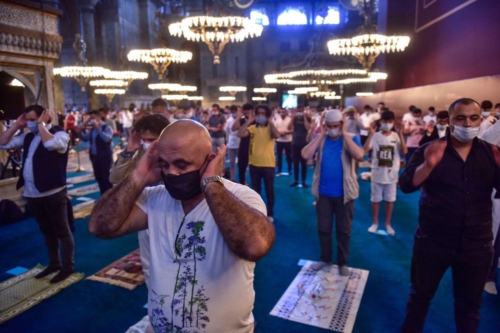 Ayasofya-i Kebir Cami-i Şerifi'nde 86 yıl sonra ilk bayram namazı - 11