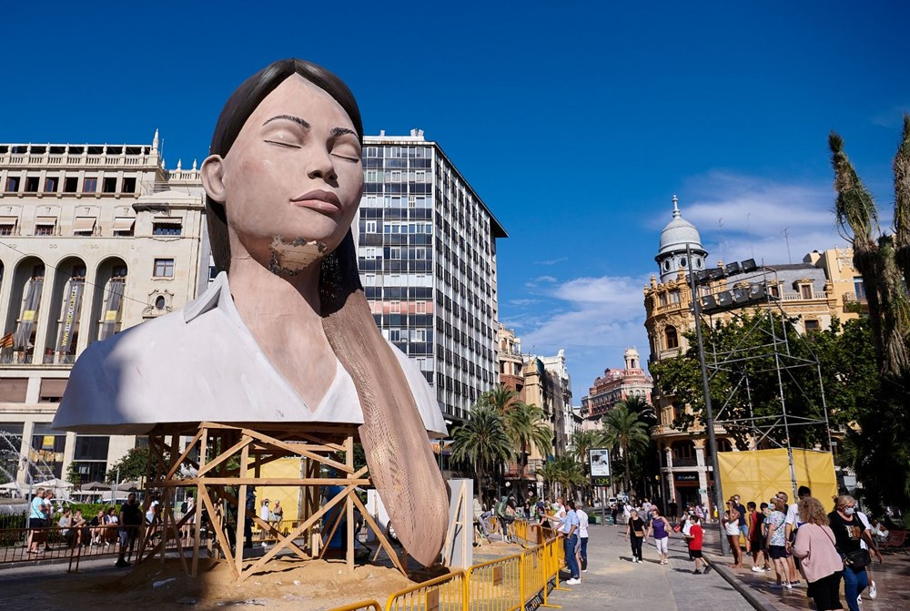 Avrupa'nın en ateşli festivali 'Las Fallas' - 3