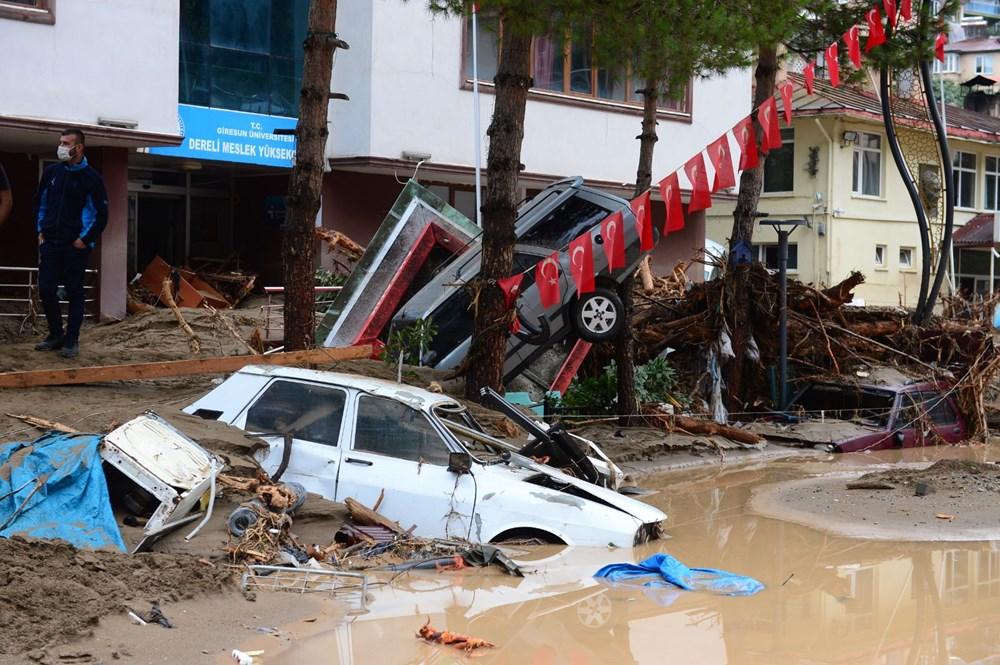 Giresun'u sel vurdu: 4 kişi hayatını kaybetti - 13