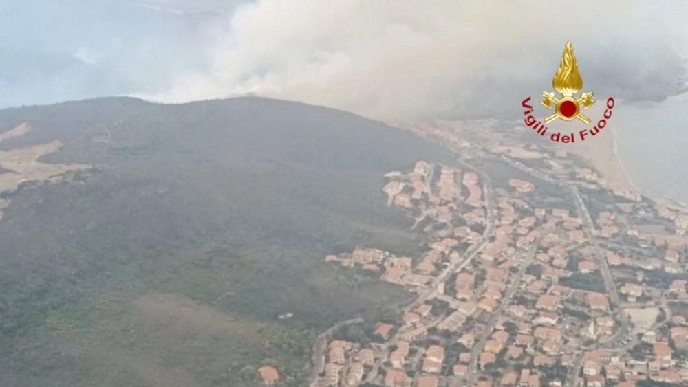 'Benzeri görülmemiş felaket': İtalya Sardunya Adası'nda yangın - 3