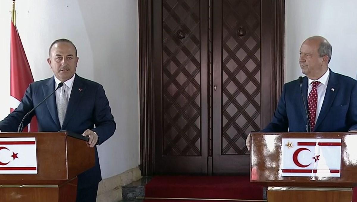 SON DAKİKA:Çavuşoğlu'ndan Kıbrıs açıklaması