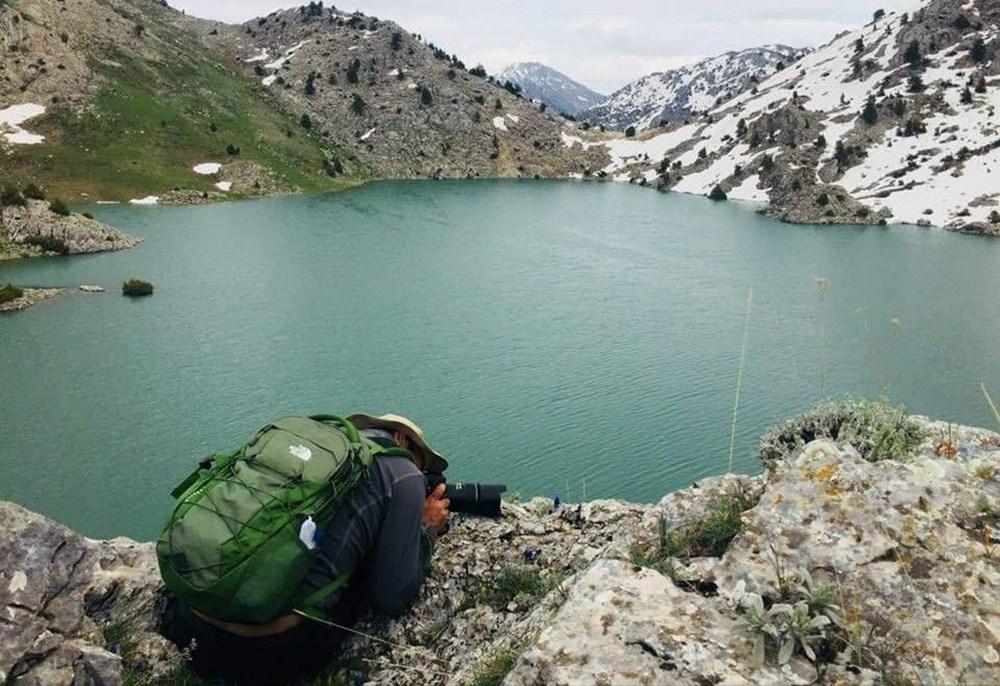Kahramanmaraş'ta dağların zirvesindeki Karagöl manzarasıyla hayran bırakıyor - 3