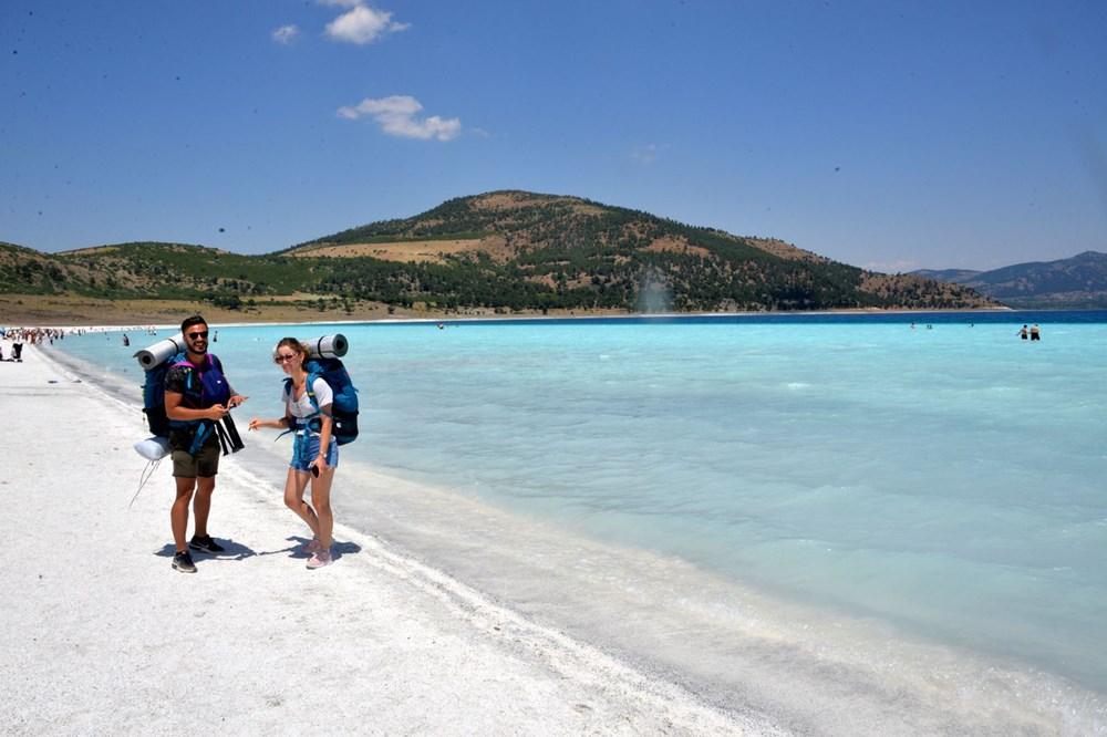 Bakan duyurdu: Salda'nın 'Beyaz Adalar' bölgesinde göle girilmesi yasaklanabilir - 4