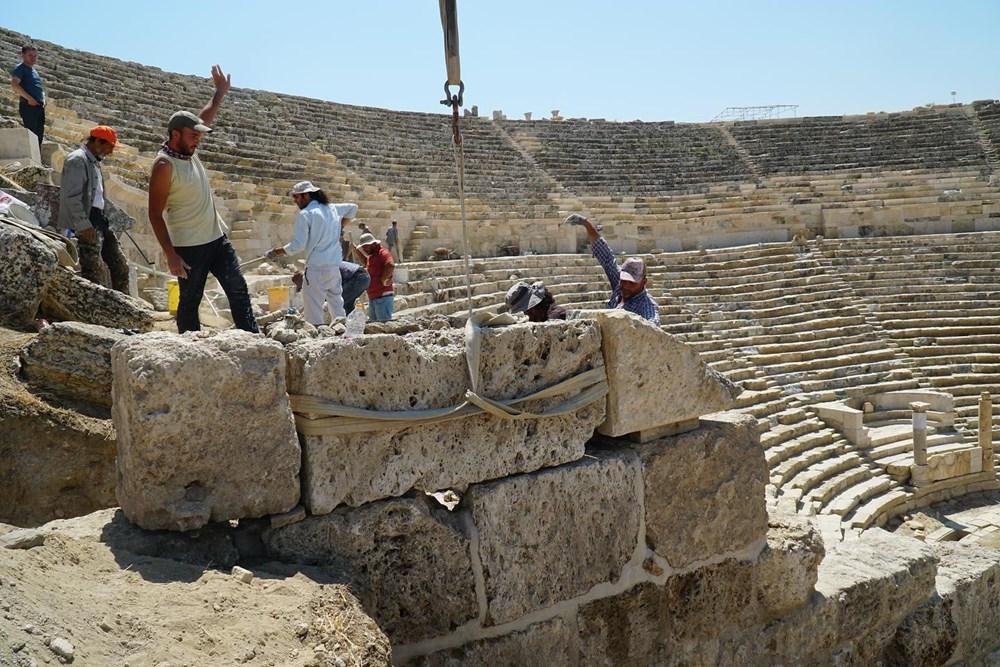 Laodikya Antik Kenti'ndeki 2 bin 200 yıllık antik tiyatronun restorasyonu tamamlandı - 4