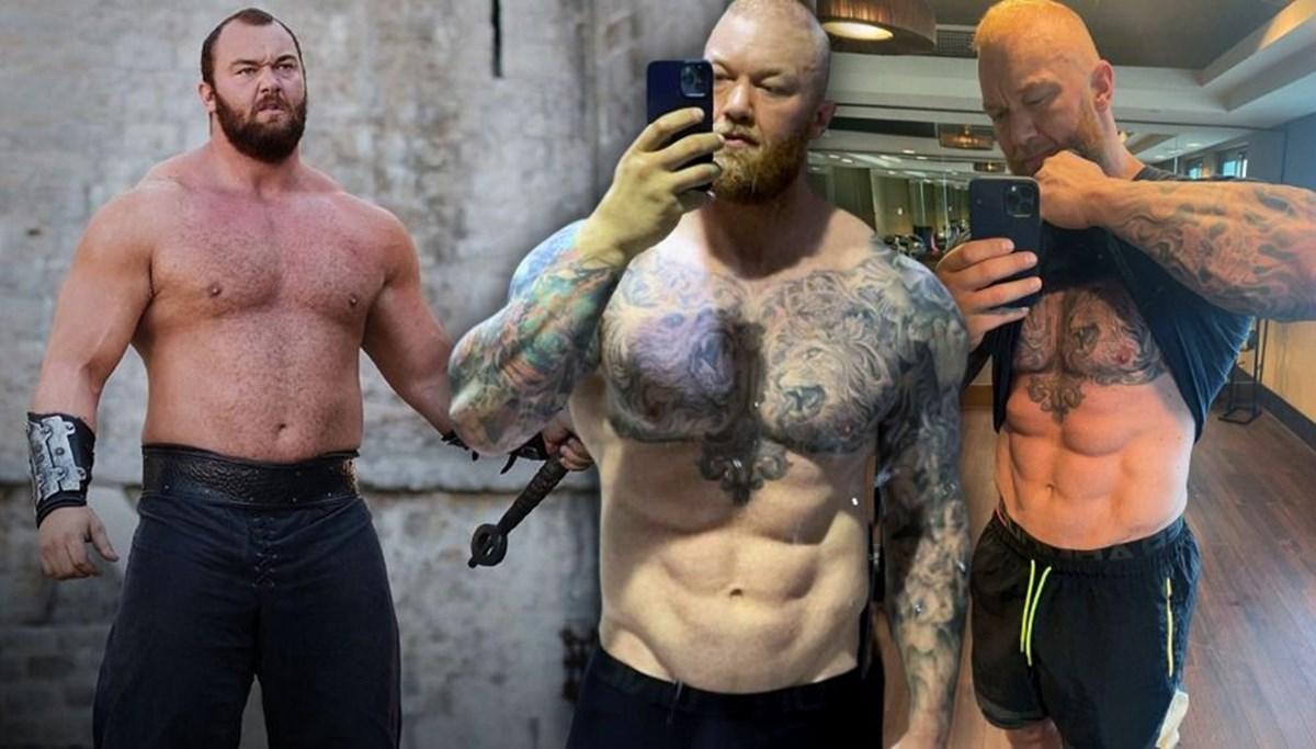 Game of Thrones'un Dağ'ı Hafthor Julius Björnsson 55 kilo verme sırrını açıkladı