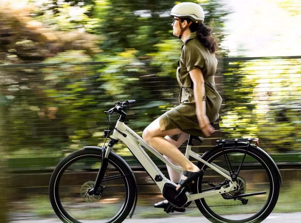 Trafiği radarlarla takip eden elektrikli bisiklet - 11
