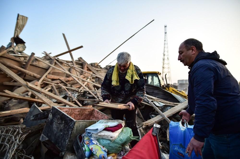 Ermenistan'ın Gence'ye füze saldırısının şiddeti gün ağarınca ortaya çıktı - 6
