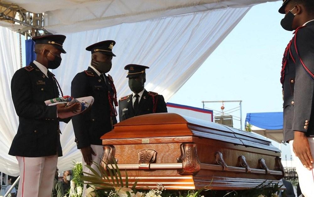 Suikasta uğrayan Haiti Devlet Başkanı'na cenaze töreni düzenlendi - 6