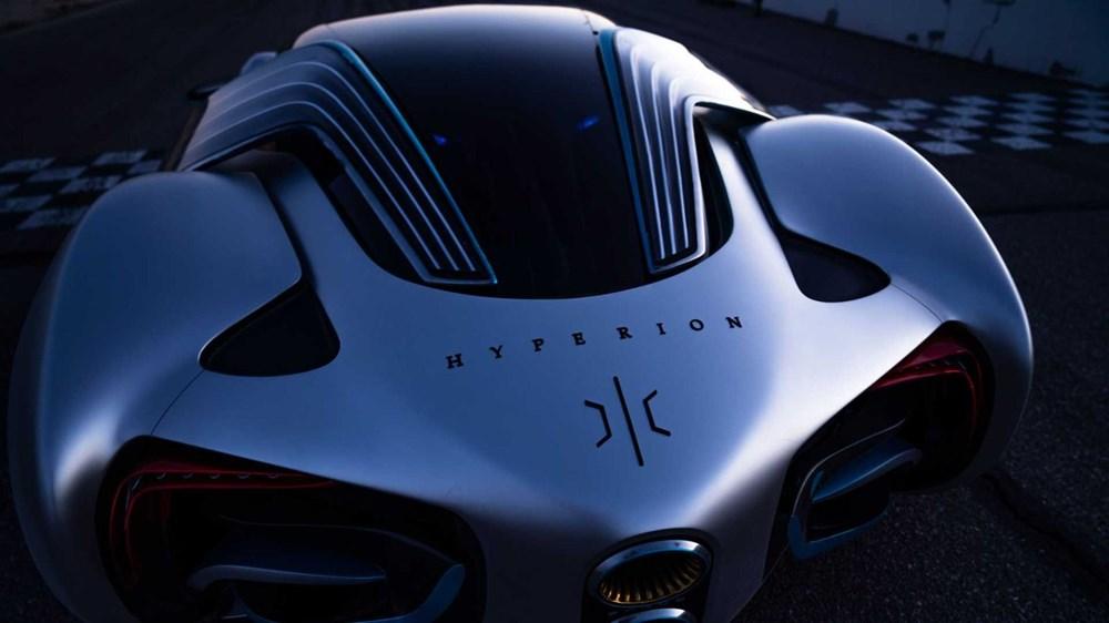 Hidrojen yakıtlı süper otomobil: Hyperion XP-1 - 7