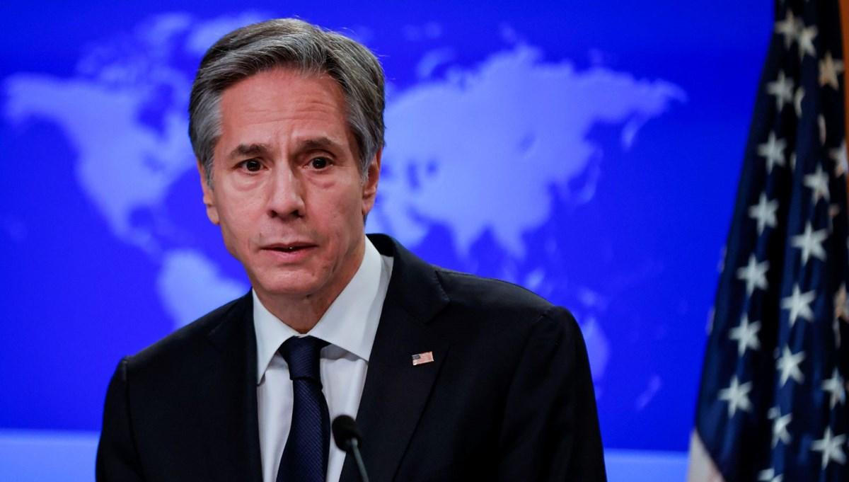 SON DAKİKA HABERİ: ABD Dışişleri Bakanı Blinken'dan Türkiye ve S-400 açıklaması