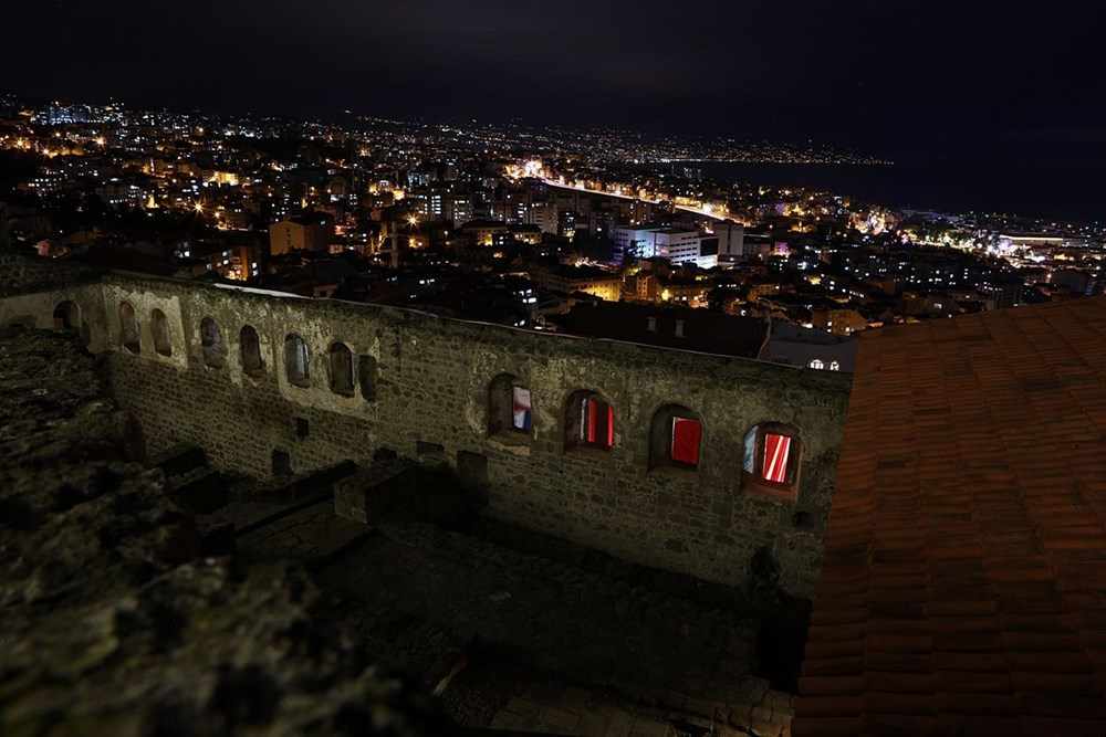 Trabzon'da restorasyonu tamamlanan Kızlar Manastırı ziyarete açıldı - 3