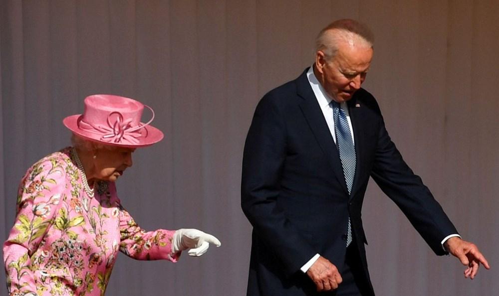 ABD Başkanı Biden, İngiltere Kraliçesi Elizabeth ile buluştu - 7