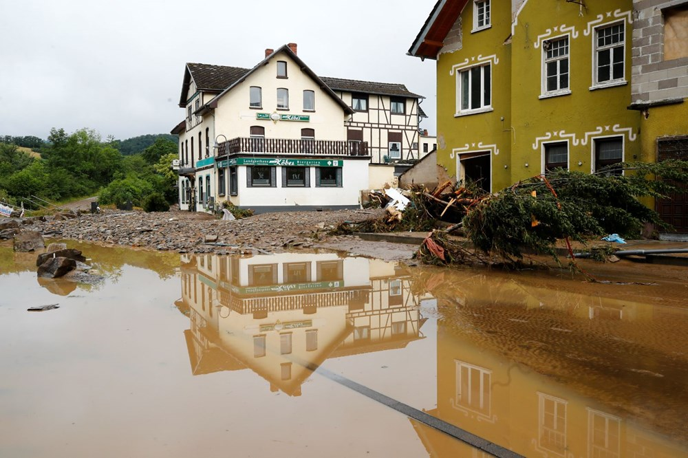 Flood disaster in Germany: The death toll reached 95 - 2