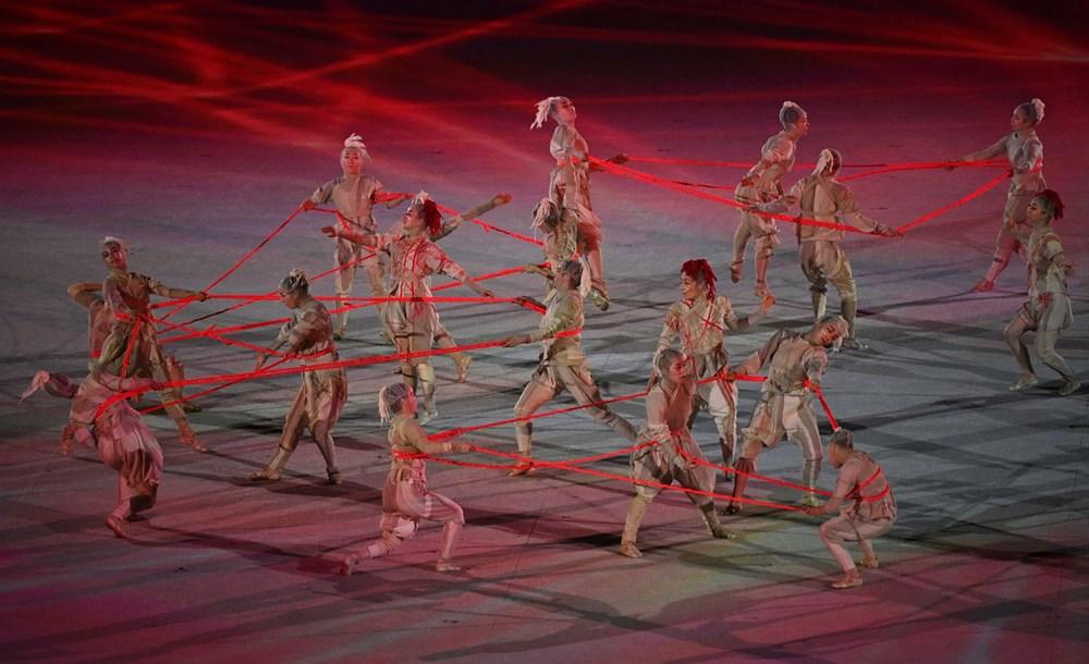 2020 Tokyo Olimpiyatları görkemli açılış töreniyle başladı - 5