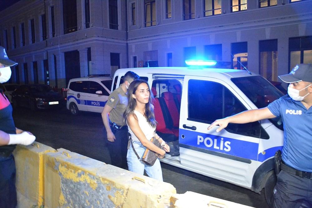 Ünlü oyuncu Ayşegül Çınar bıçaklı kavga sonrası gözaltında:7'si polis 12 yaralı - 4