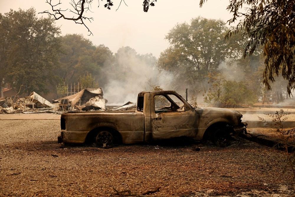 California'da yangınlar kontrol altına alınamadı: Bir helikopter düştü - 9