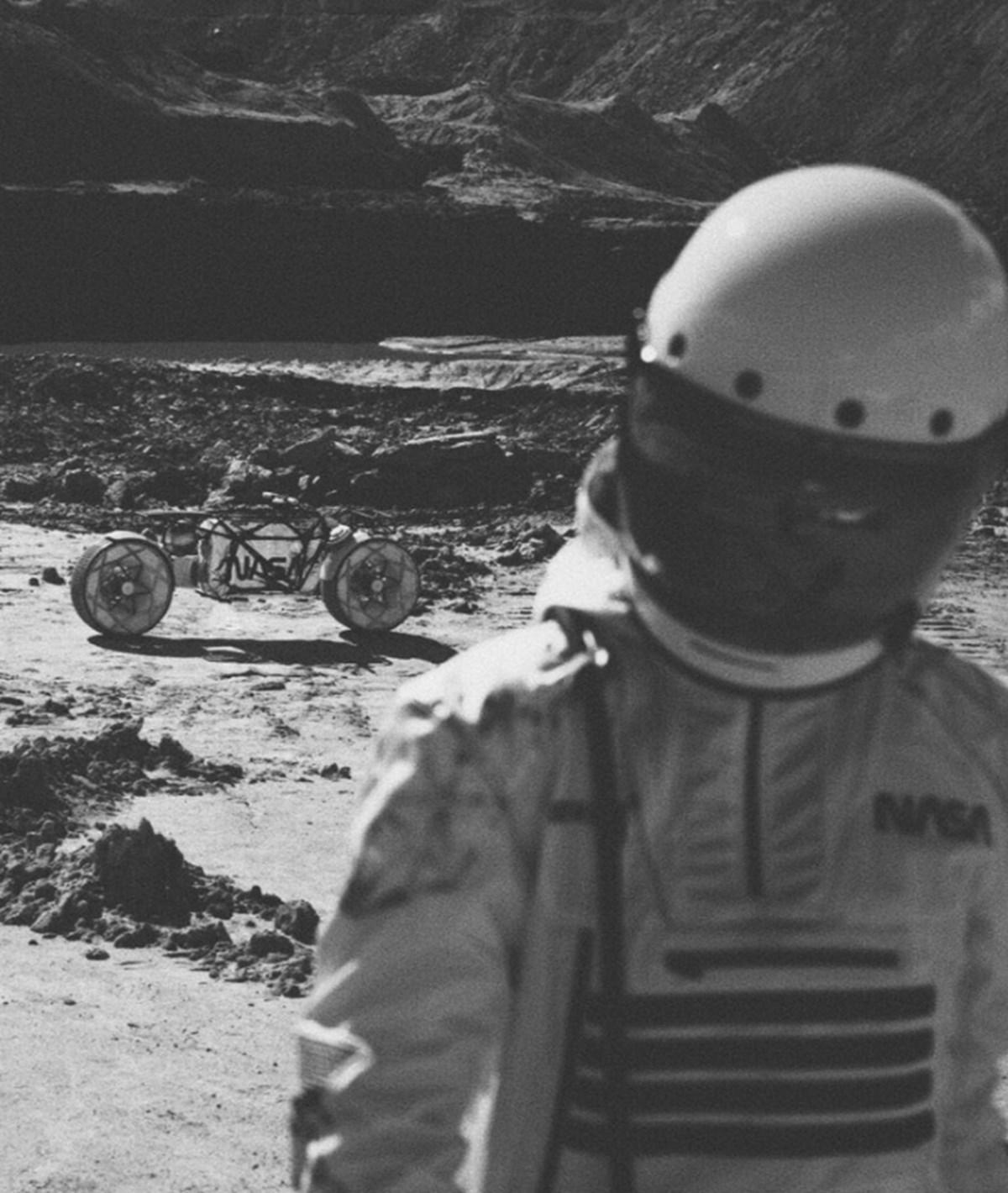 Astronotların diğer gezegenlerde kullanması için motosiklet tasarlandı