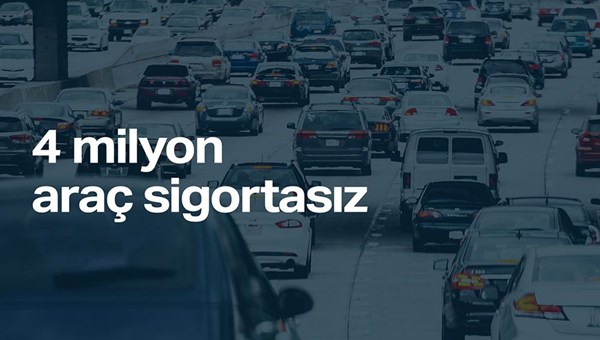 TÜİK: Türkiye'de 10 araçtan 2'si sigortasız
