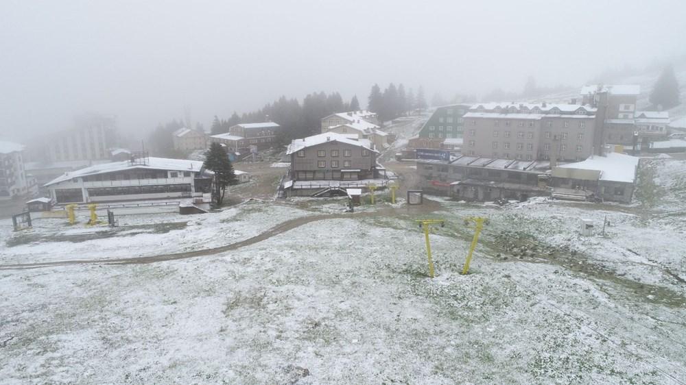 Geçen hafta 30 derece bugün kar - 4