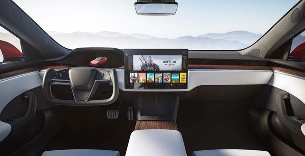 Tesla Model S'in yeni kokpit görselleri yayınlandı - 2