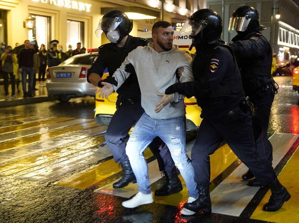 Rusya'da Putin karşıtı protesto: 130 gözaltı - 8