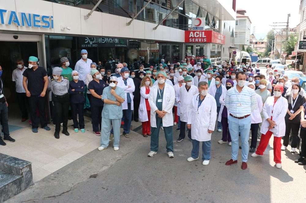 Hastanede güvenlik görevlisi ve doktora saldırı - 11