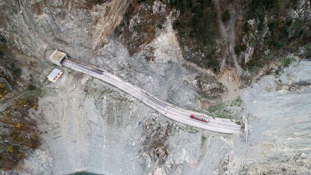 Yusufeli'nin yeni yerleşim yerine 40 tünelle ulaşılacak - 13