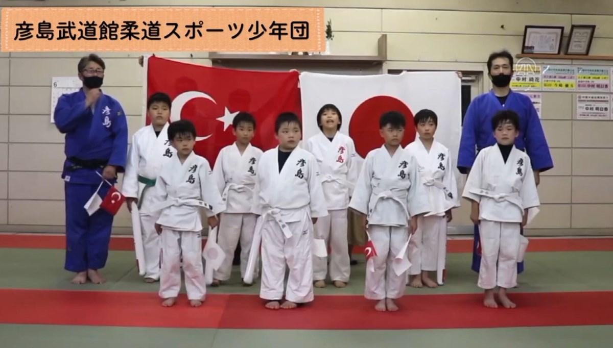 Japon sporculardan Türkiye Judo Milli Takımı'na destek