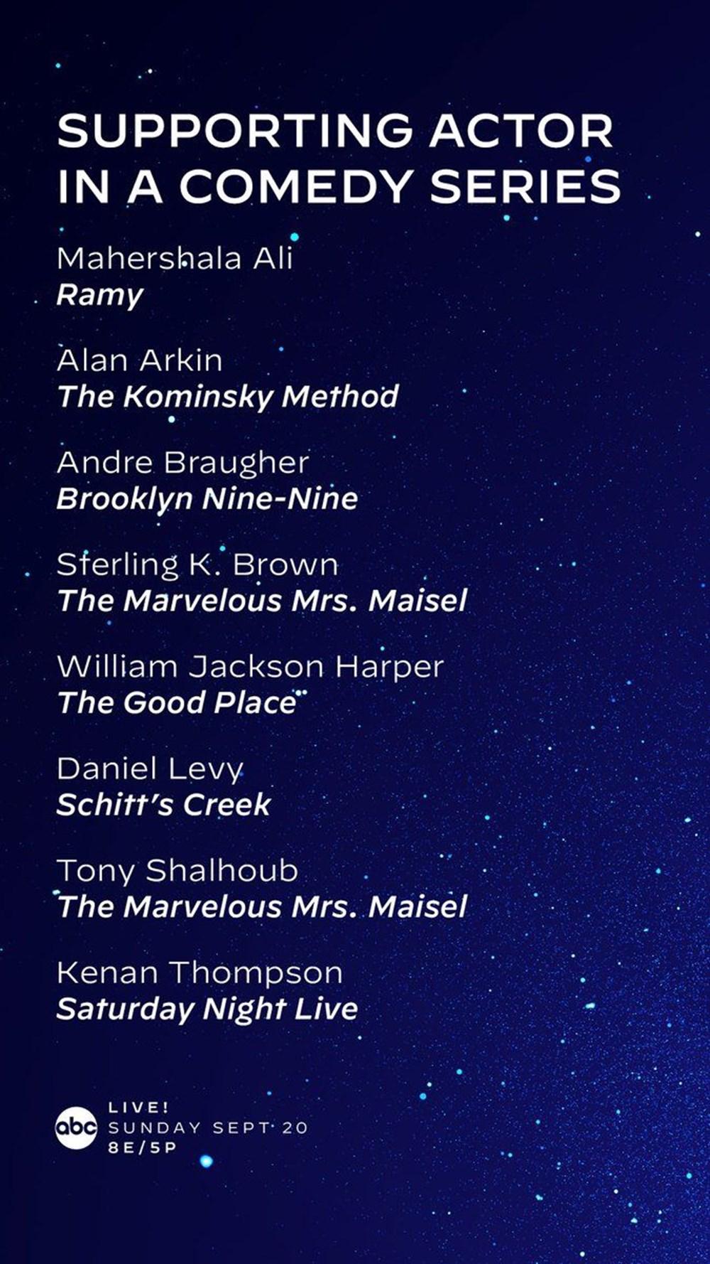 72. Emmy Ödülleri 2020 adayları belli oldu - 17