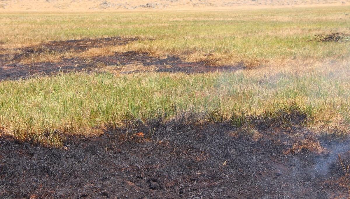 Bingöl'de kendiliğinden yanan toprak tedirginlik yarattı