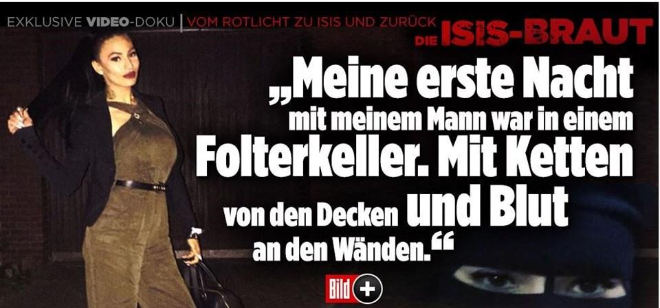 Derya Ö'nün dehşet öyküsü Almanya'nın en çok satan gazetesi Bild'e manşet oldu.