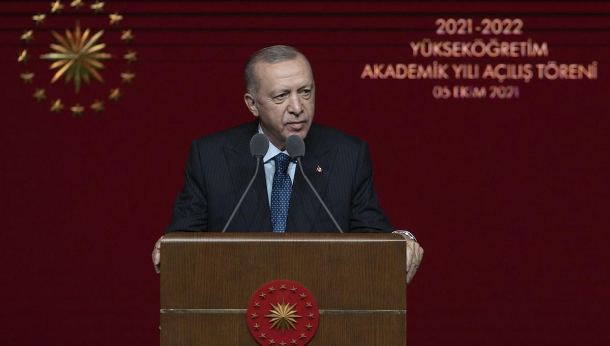 Cumhurbaşkanı Erdoğan: Eğitim öğretimin kesintisiz sürmesi konusunda kararlıyız
