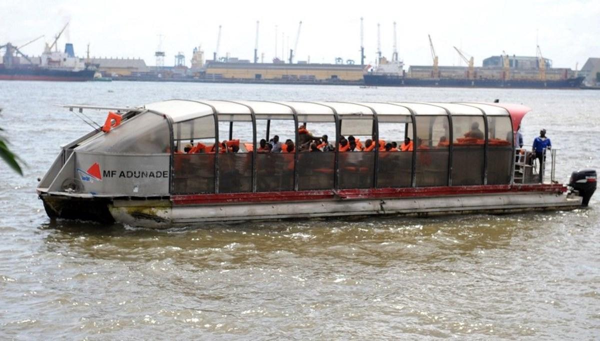 Nijerya'da yolcu taşıyan tekne battı: 9 ölü