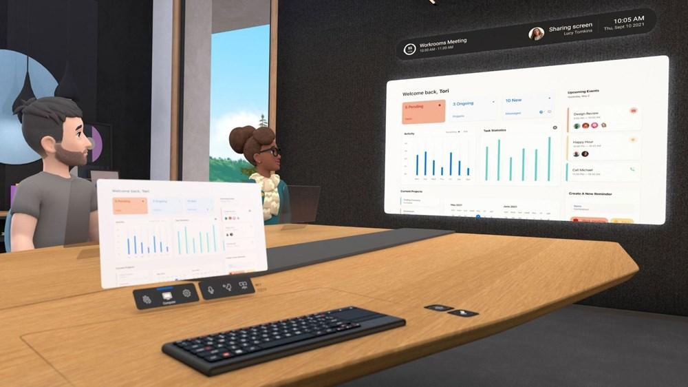 """Facebook, """"Horizon Workrooms"""" adlı sanal ofis uygulamasını tanıttı - 3"""