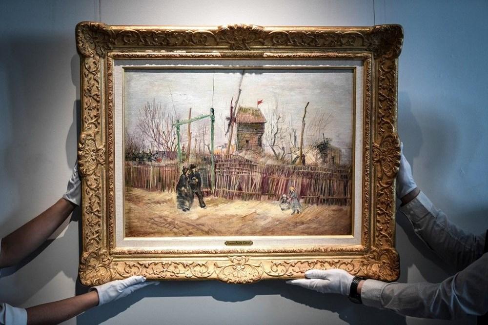 Van Gogh'un Montmartre eseri ilk defa görüntülendi: 6,9 milyon sterline alıcı bulacak - 4