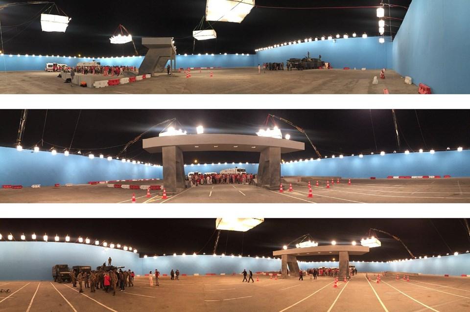 Proje kapsamıdan 'sanal gerçeklik'le beraber 3 boyutlu (3d stereoscopic) görüntü teknolojisi de aynı anda kullanıldı.