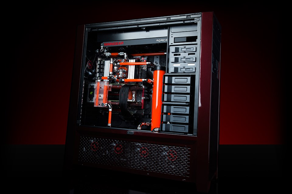 Maingear Rush X99 Super Stock