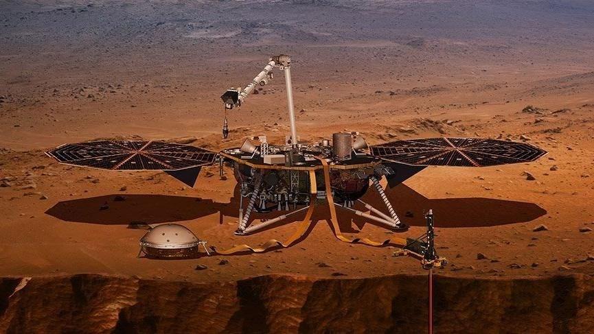 MARS'IN SENİ İLK DEFA DUYULDU